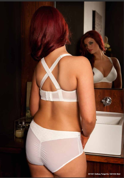 Curvy Kate Desire Ivory Bra and Short