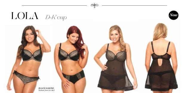Curvy Kate Lola display