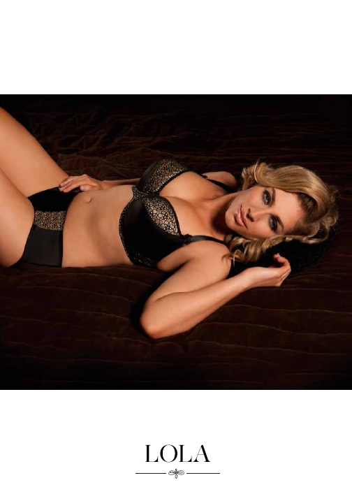 Curvy Kate Lola Black Almond Bra and Short