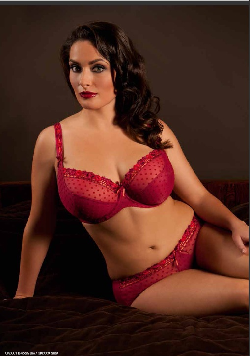 Curvy Kate Princess Scarlet Chilli Bra & Short